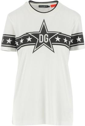 Dolce & Gabbana Millennials Star Print T-Shirt
