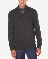 Perry Ellis Men's Almont Shawl-Collar Sweater