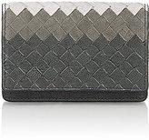 Bottega Veneta Men's Intrecciato Folding Card Case-DARK GREY