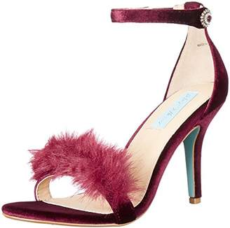 Betsey Johnson Blue Women's Sb-nolte Dress Sandal