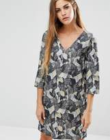 French Connection Lalapalm Printed Tunic Dress
