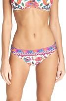 Nanette Lepore Women's Antigua Charmer Bikini Bottoms