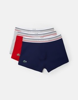 Lacoste 3-Pack Stretch Cotton Trunks