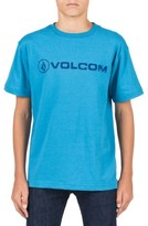 Volcom Boy's Lino Euro Graphic T-Shirt