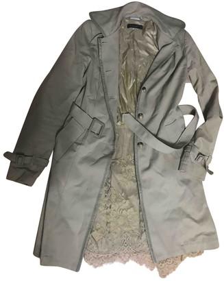 Twin-Set Twin Set Beige Cotton Trench Coat for Women