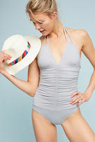 L-Space L Space Ruched Side One-Piece