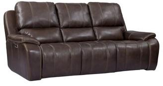 Winston Porter Artin Reclining Sofa Upholstery Color: Brown
