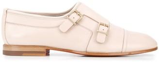 Santoni Low Heel Monk Shoes