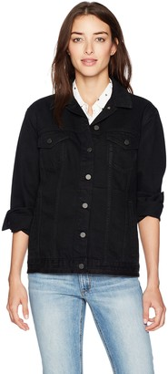 French Connection Women's Slouchy Western Denim Jacket