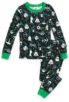 Hanna Andersson 'Star Wars TM Holiday' Organic Cotton Two-Piece Fitted Pajamas (Toddler Boys, Little Boys & Big Boys)