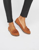 London Rebel Fringe Loafers