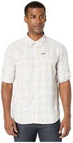 Columbia Silver Ridge 2.0 Plaid Long Sleeve Shirt (White Grid Plaid) Men's Long Sleeve Button Up