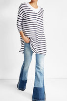 American Vintage Striped Cotton Tunic