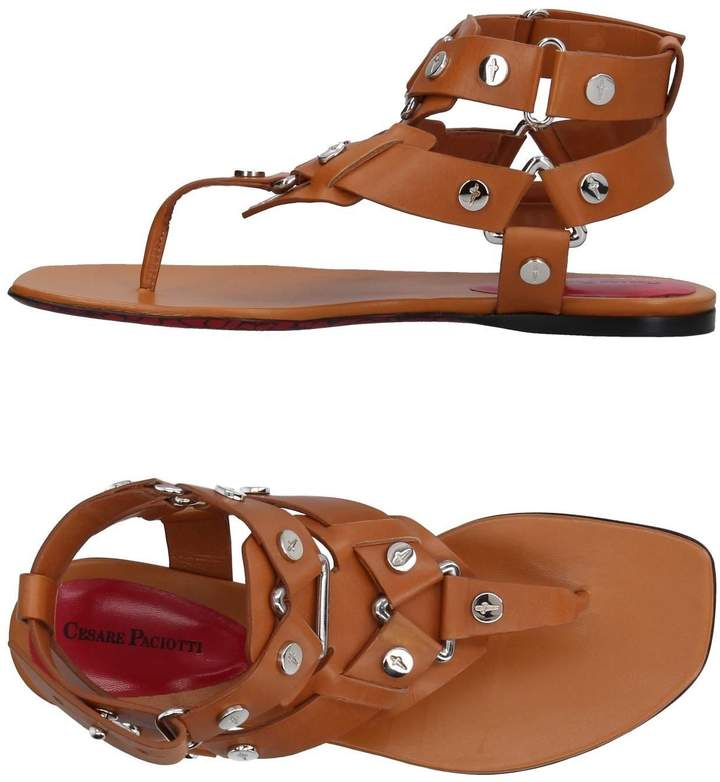 Cesare Paciotti Toe strap sandals - Item 11385984HR