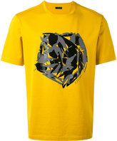 Z Zegna abstract print T-shirt - men - Cotton - M
