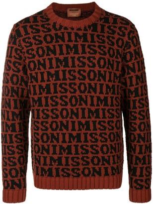 Missoni Logo Intarsia Jumper