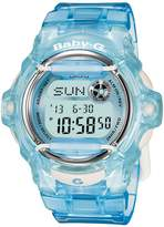 Baby-G BABY G Women's Digital Blue Resin Strap Watch 43mm