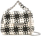 Stella McCartney mini Becks weaved shoulder bag - women - Artificial Fur/Artificial Leather - One Size