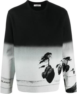 Valentino Floating Islands printed sweatshirt