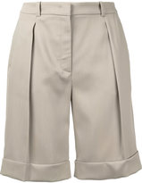 Michael Kors classic tailored shorts - women - Silk/Virgin Wool - 2