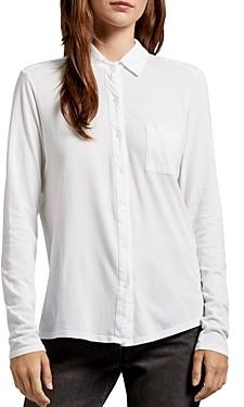 Michael Stars Harley Knit Button-Down Shirt