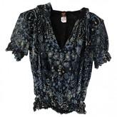 Jean Paul Gaultier Blue Top for Women Vintage