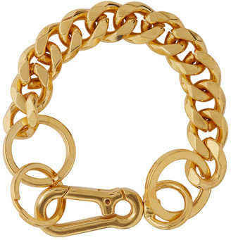 Martine Ali SSENSE Exclusive Gold Cuban Link Bracelet