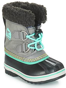 Sorel CHILDRENS YOOT PAC NYLON girls's Snow boots in Grey