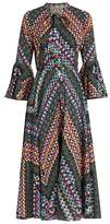 Temperley London Kaleidoscope-print cotton dress