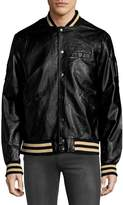 Members Only Men's Rib-Trimmed Bomber Jacket