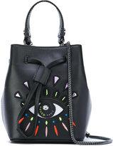 Kenzo Eye mini bucket bag - women - Polyurethane - One Size