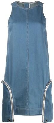 Rick Owens Zipped Side Pocket Shift Dress
