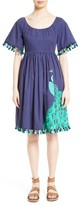Kate Spade Women's Embellished Cotton Poplin Dress