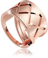 Rebecca Melrose Rose Gold Over Bronze Ring