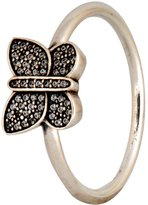 Pandora Ring Sparkling Butterfly with Clear CZ 190938CZ