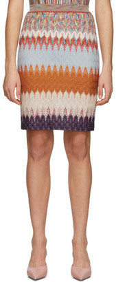 Missoni Multicolor Chevron Skirt