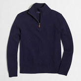 J.Crew Factory Lambswool half-zip sweater