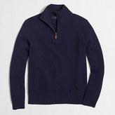 J.Crew Factory Slim lambswool half-zip pullover sweater