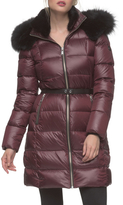 Andrew Marc Tatiana Belted Quilted Jacket