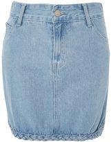 Glamorous **Braid Detail Denim Skirt