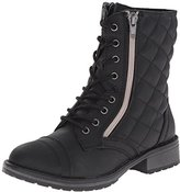 Steve Madden Jtalker Combat Boot (Little Kid)