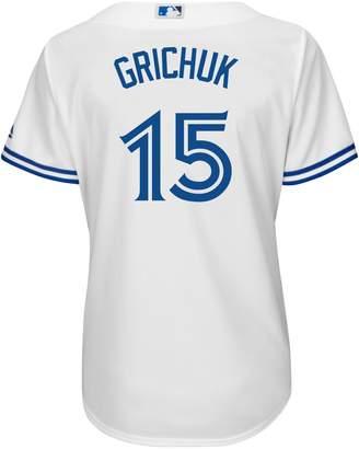 Majestic Randal Grichuk Toronto Blue Jays MLB Cool Base Replica Home Jersey Tee