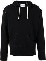 Maison Margiela open seam hoodie - men - Cotton - 52