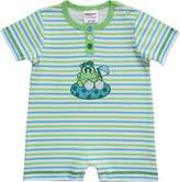 Schnizler Unisex Baby Interlock Frosch geringelt Player - Green