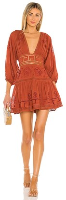 Free People Tea Time Mini Dress