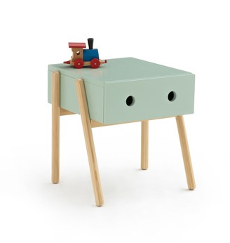 La Redoute Interieurs Wallet Scandi-Style 1 Drawer Bedside Table