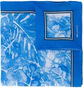 Kiton floral print pocket square