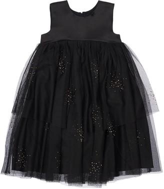 Billieblush Iridescent Satin Dress