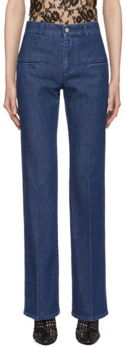 Altuzarra Blue Serge Jeans