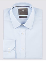 M&S Collection 2in Shorter Pure Cotton Regular Fit Shirt